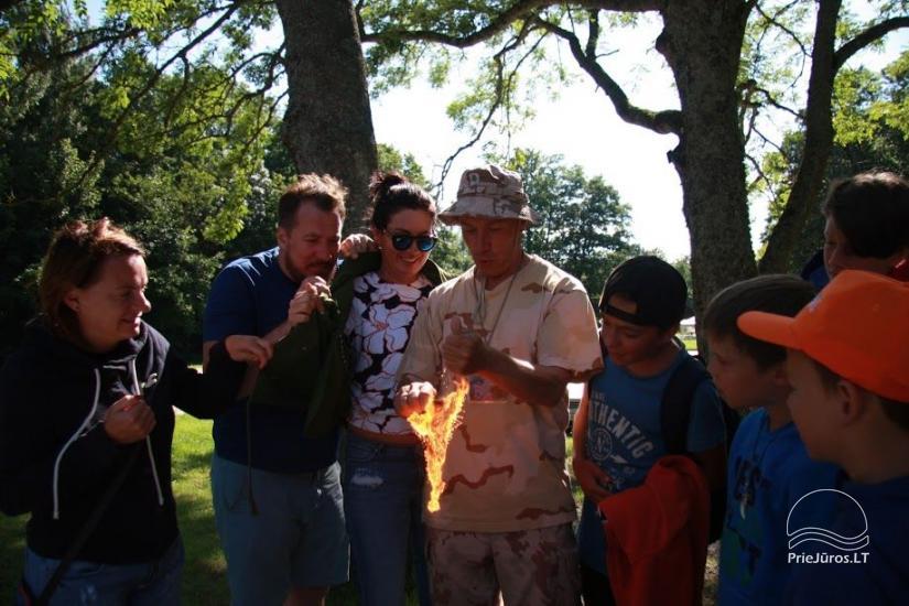 Angļu vasaras nometne par 6-17 gadu bērniem Narnia-2020 English OUTDOORS - 13