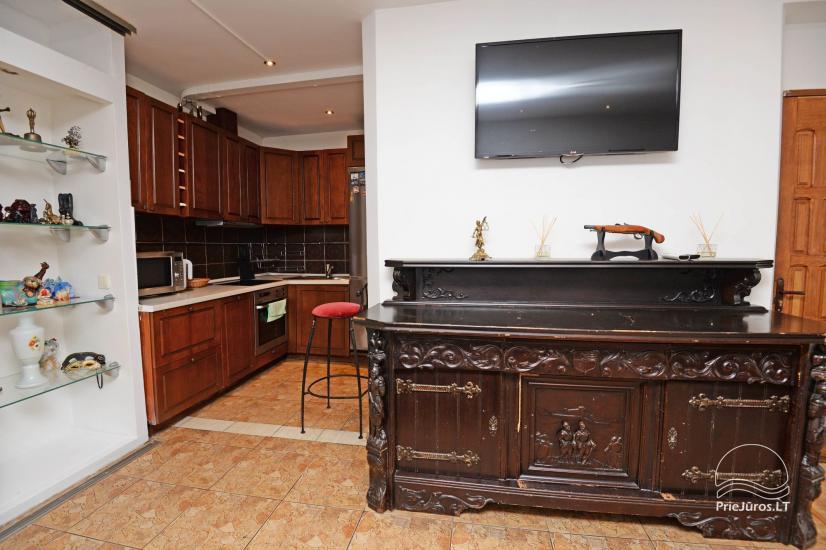 Studijas tipa dzīvoklis centrā: WiFi, lapene pagalmā, gaisa kondicionēšanas - 5
