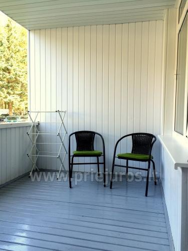 2 kambarių butas Šventojoje: didelė terasa, TIK 30m. iki jūros!! - 3