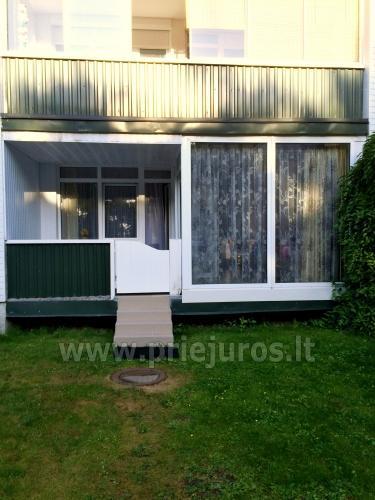 2 kambarių butas Šventojoje: didelė terasa, TIK 30m. iki jūros!! - 14