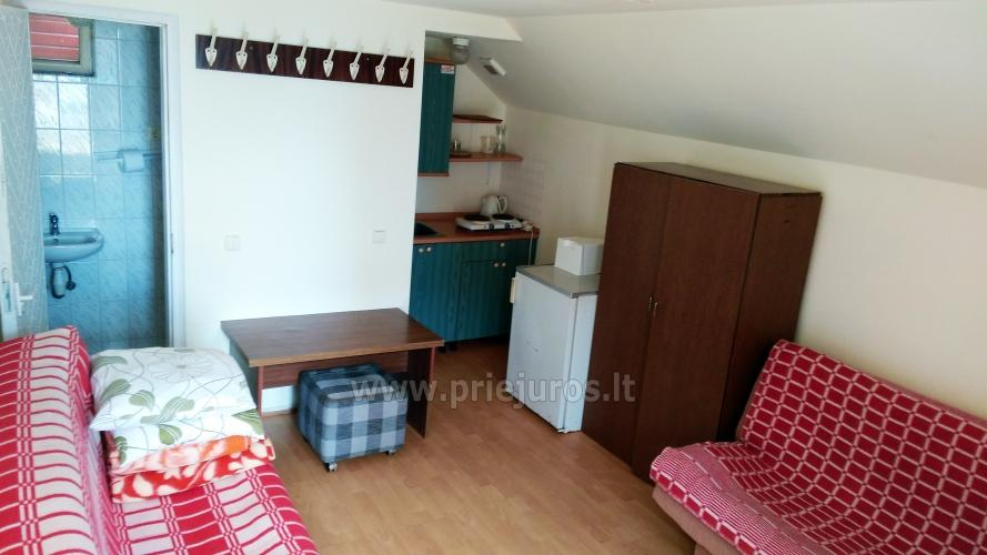 Double, triple, quadruple rooms for rent in Pervalka, Curonian spit - 4