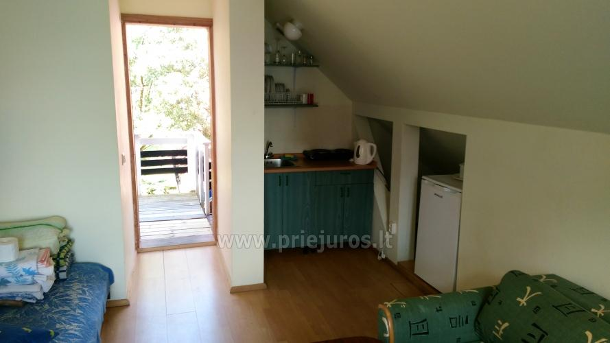 Double, triple, quadruple rooms for rent in Pervalka, Curonian spit - 9
