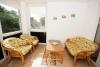 Трехкомнатная квартира с солнечной закрытой в центре Ниды