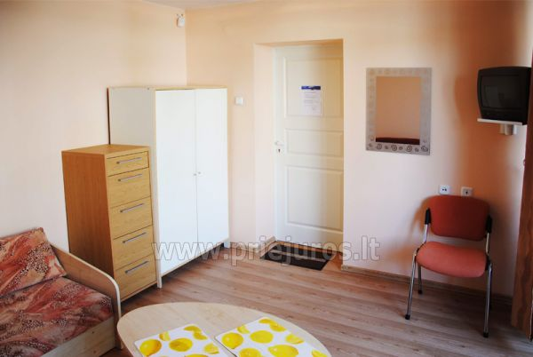 Triple room in a block. Shared amenities
