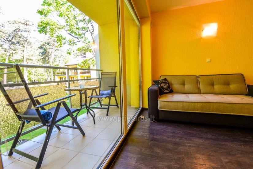 Vieno kambario butas su balkonu Juodkrantėje, Kalno gatvėje - 4