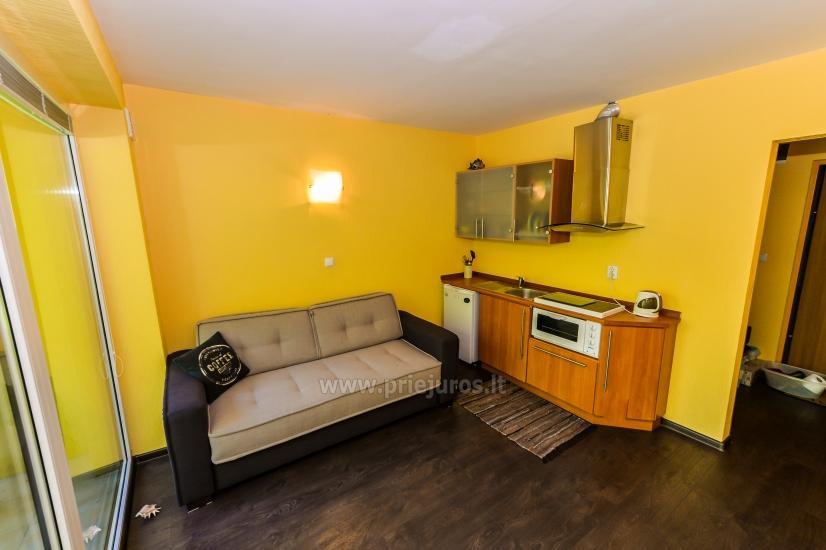 Vieno kambario butas su balkonu Juodkrantėje, Kalno gatvėje - 5