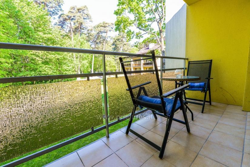 Vieno kambario butas su balkonu Juodkrantėje, Kalno gatvėje - 7