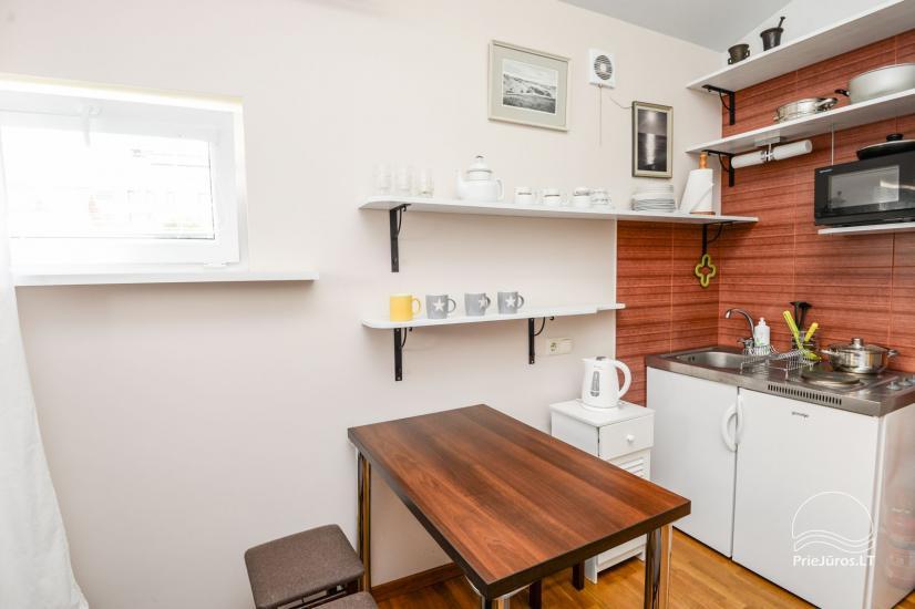 Apartamentai su terasa ir atskiru įėjimu Palangoje - 7