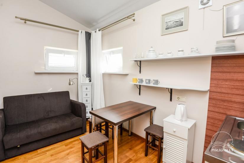 Apartamentai su terasa ir atskiru įėjimu Palangoje - 6