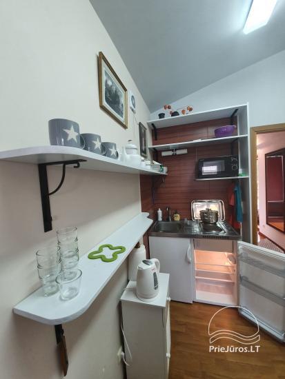 Keturvietis apartamentas su kondicionieriumi