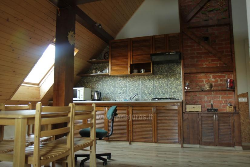Antro namo aukšto nuoma. Atskiras įėjimas, virtuvė, dušas, vieta mašinai - 6