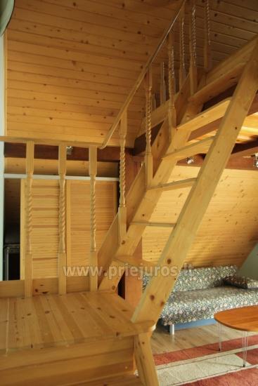 Antro namo aukšto nuoma. Atskiras įėjimas, virtuvė, dušas, vieta mašinai - 9