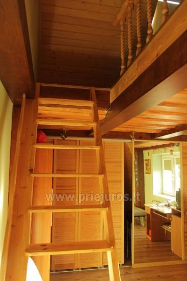 Antro namo aukšto nuoma. Atskiras įėjimas, virtuvė, dušas, vieta mašinai - 10
