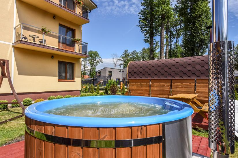 IEVŲ VILLA – komfortablen Apartments und Zimmer, breiten Hof, ein beheiztes Schwimmbad - 20