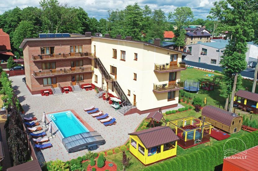 IEVŲ VILA in Palanga – comfortable apartments and rooms, wide yard, heated swimming pool - 7