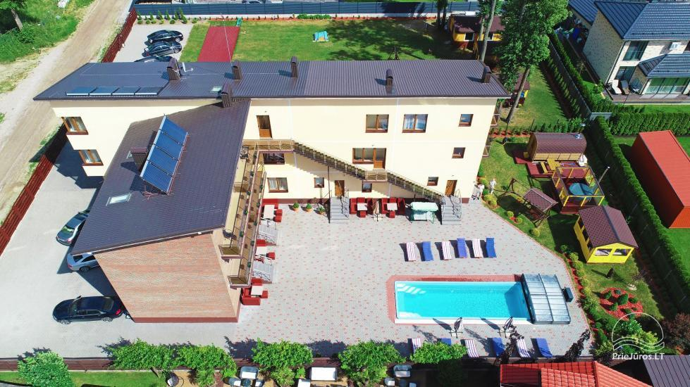 IEVŲ VILA in Palanga – comfortable apartments and rooms, wide yard, heated swimming pool - 10