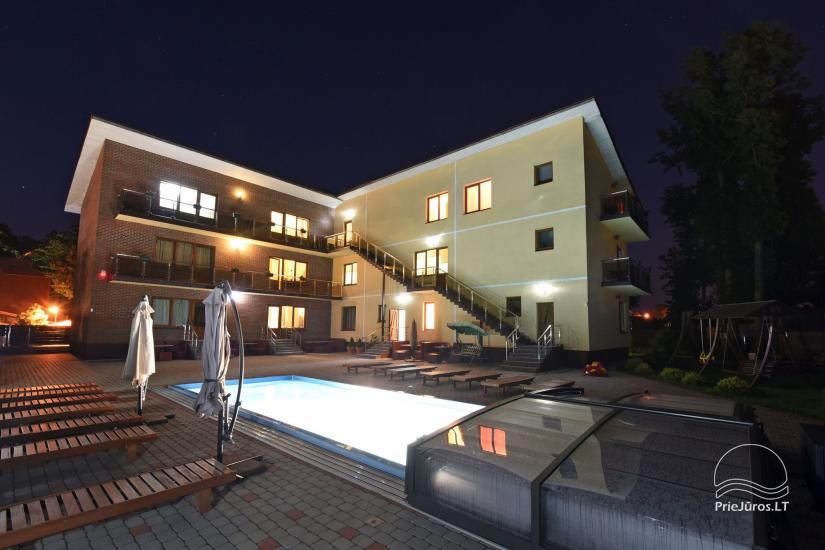 IEVŲ VILA in Palanga – comfortable apartments and rooms, wide yard, heated swimming pool - 3