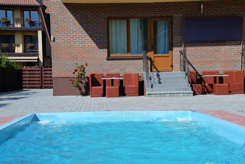 IEVŲ VILLA – komfortablen Apartments und Zimmer, breiten Hof, ein beheiztes Schwimmbad - 27