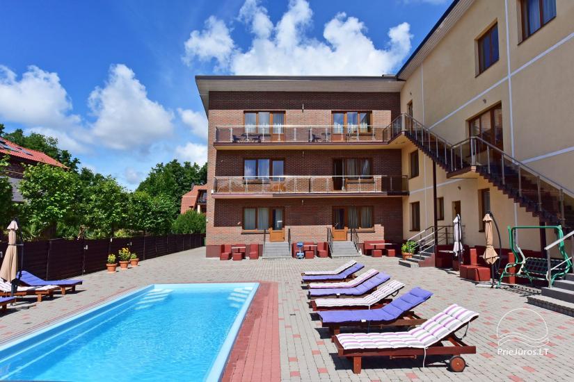 IEVŲ VILLA – komfortablen Apartments und Zimmer, breiten Hof, ein beheiztes Schwimmbad - 3