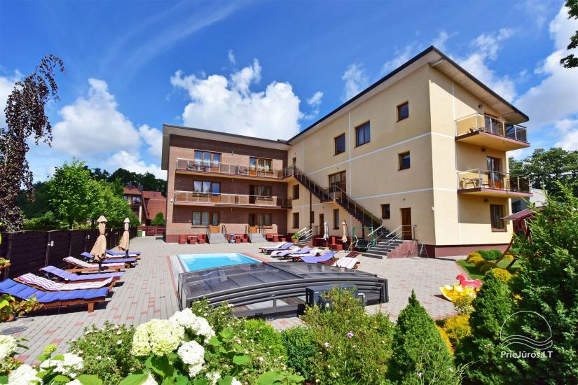 IEVŲ VILA in Palanga – comfortable apartments and rooms, wide yard, heated swimming pool - 2