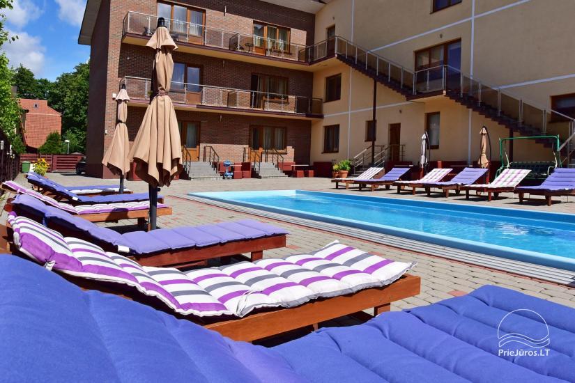 IEVŲ VILLA – komfortablen Apartments und Zimmer, breiten Hof, ein beheiztes Schwimmbad - 6