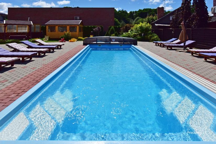 IEVŲ VILLA – komfortablen Apartments und Zimmer, breiten Hof, ein beheiztes Schwimmbad - 8