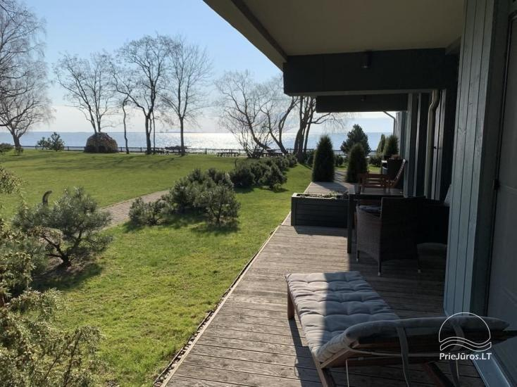 Cozy apartment with large terrace and view of the lagoon in Curonian Spit - 2