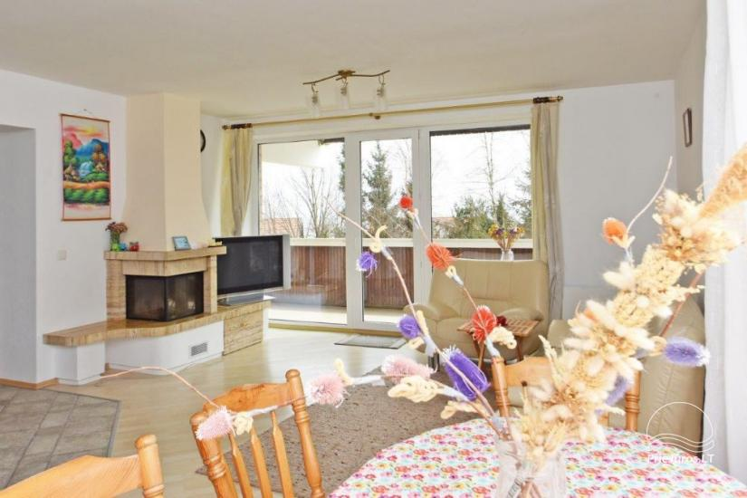 Trijų kambarių butas Juodkrantėje su vaizdu į marias - 1