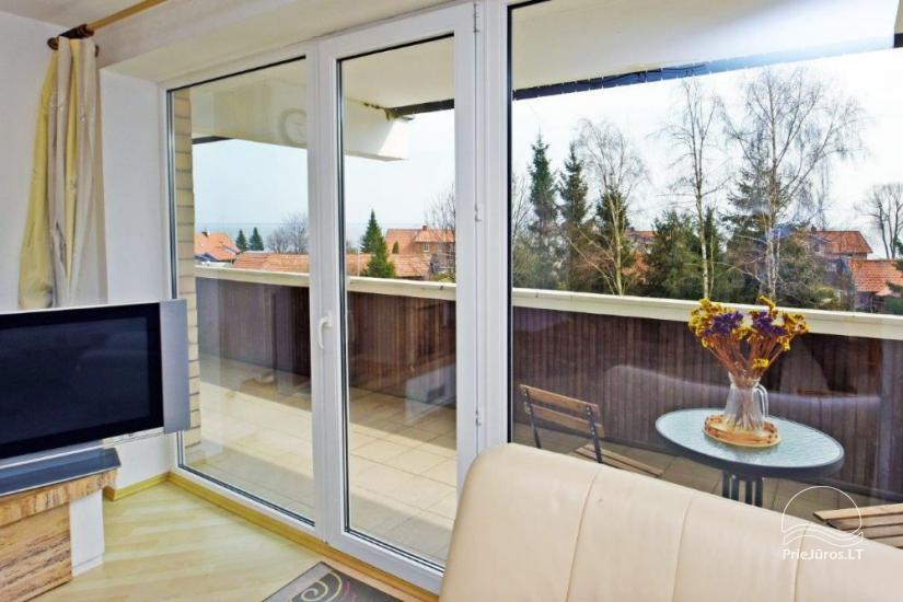 Trijų kambarių butas Juodkrantėje su vaizdu į marias - 6