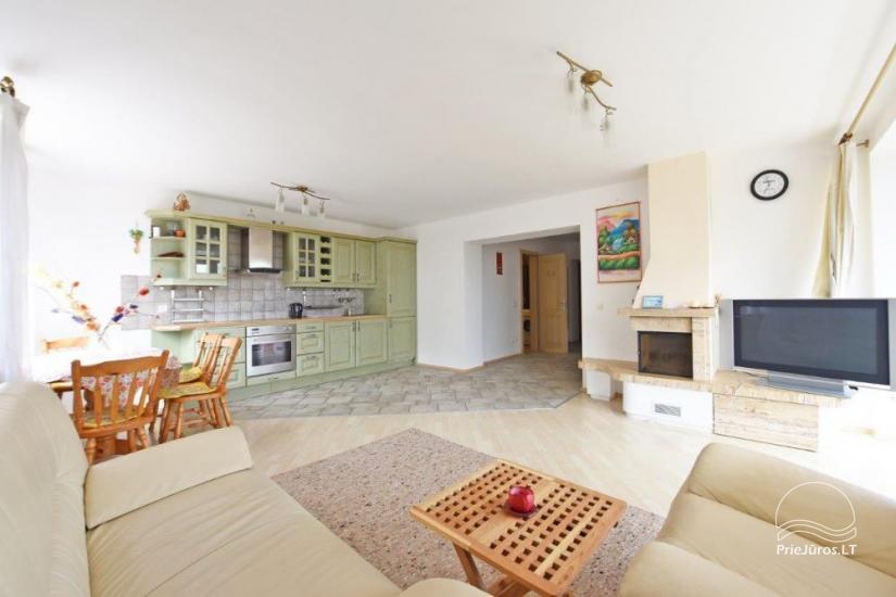 Trijų kambarių butas Juodkrantėje su vaizdu į marias - 8
