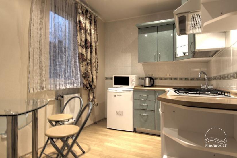 Wohnungen zur Miete in Privathaus in Palanga. Getrennter Hof, Grill - 7