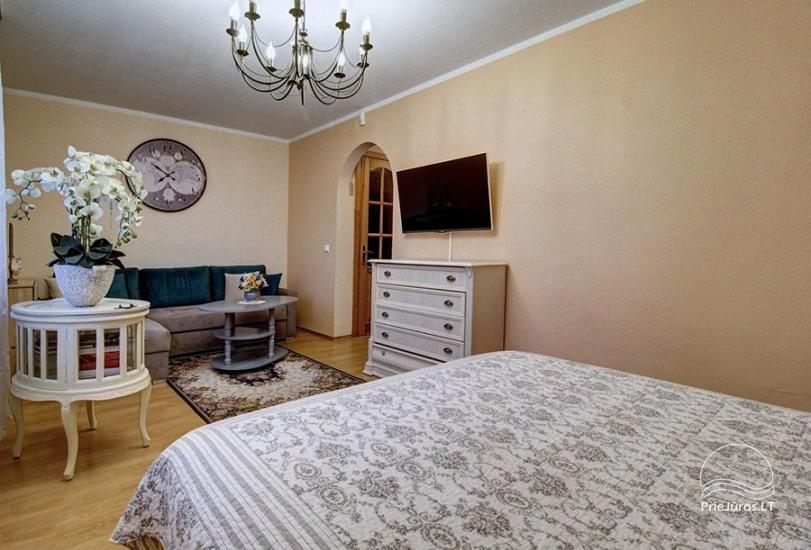 Wohnungen zur Miete in Privathaus in Palanga. Getrennter Hof, Grill - 3