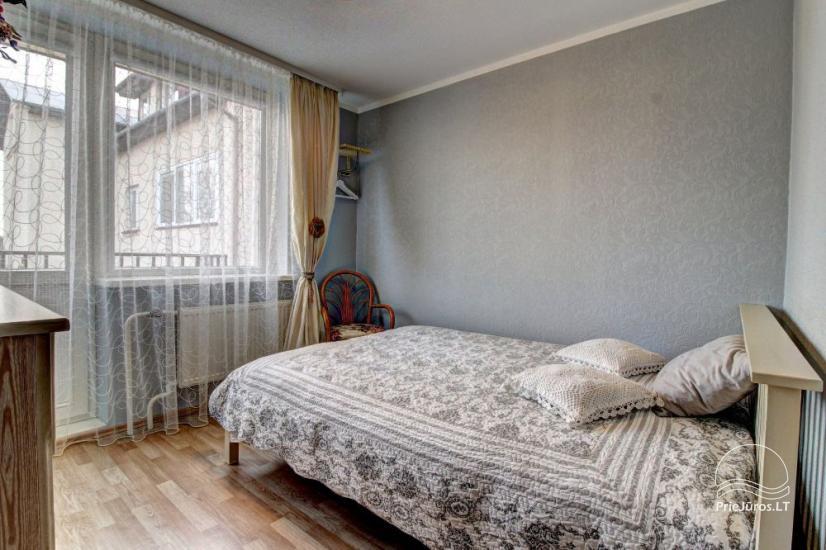 Wohnungen zur Miete in Privathaus in Palanga. Getrennter Hof, Grill - 11