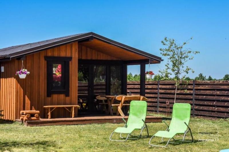 Ferienhäuser für Ihre Erholung in Sventoji