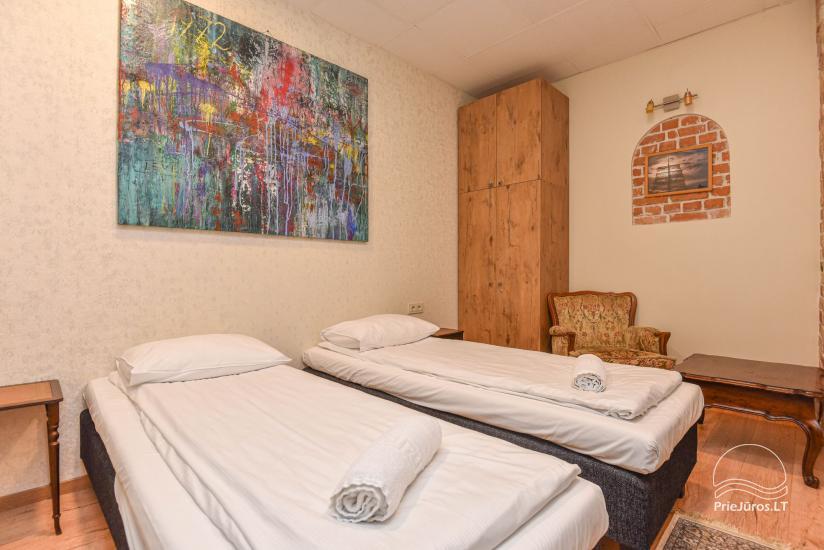 Dviejų kambarių apartamentai