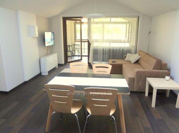 Dviejų kambarių apartamentai su lodžija Nidoje - 2
