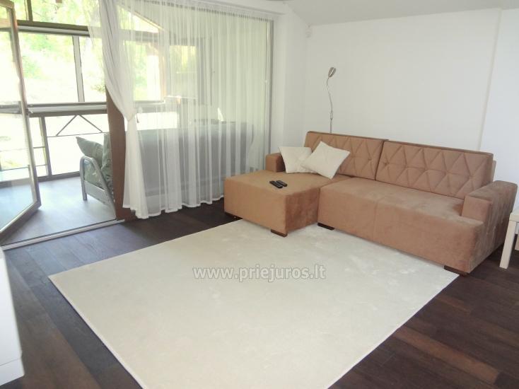Dviejų kambarių apartamentai su lodžija Nidoje - 5