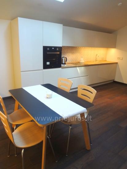 Dviejų kambarių apartamentai su lodžija Nidoje - 4