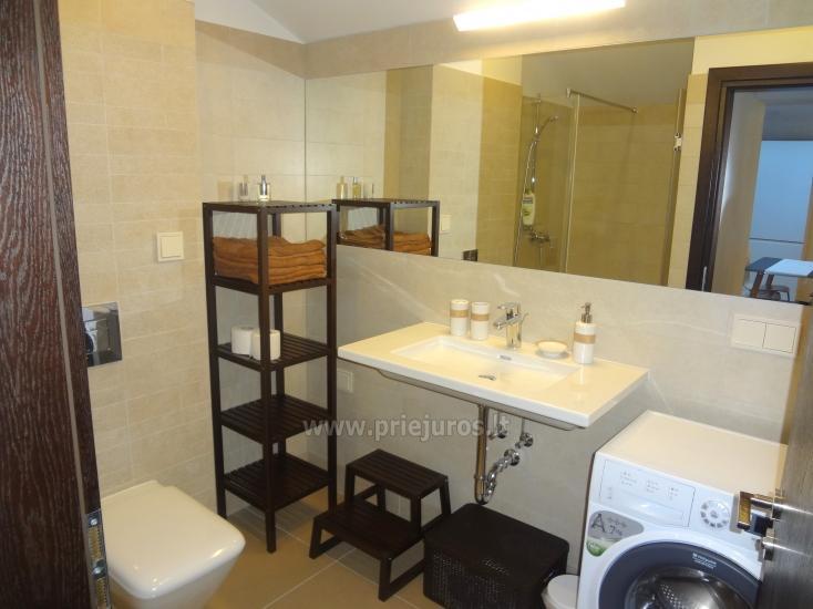 Dviejų kambarių apartamentai su lodžija Nidoje - 7