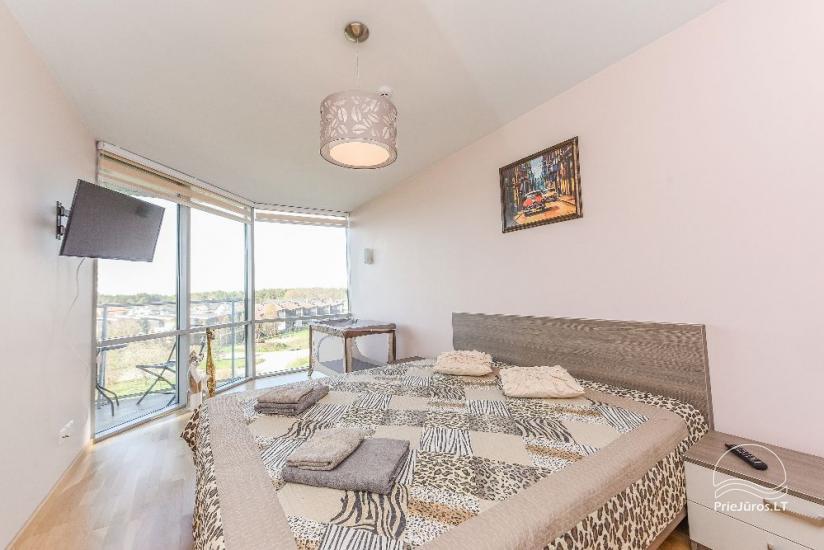 Naujai, moderniai įrengti apartamentai Elijoje - 11