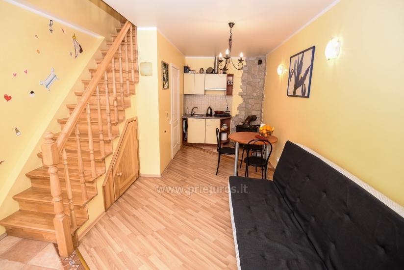 Yzzi apartamentai (45m²+ mansarda ir balkonas) nuomai Palangoje - 2
