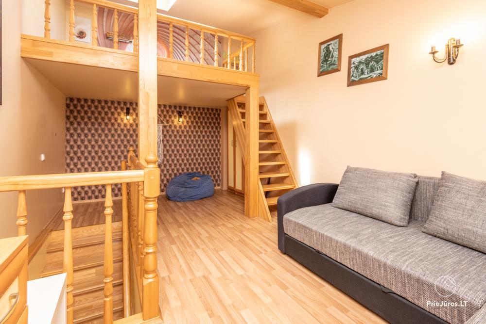 Yzzi apartamentai (45m²+ mansarda ir balkonas) nuomai Palangoje - 3