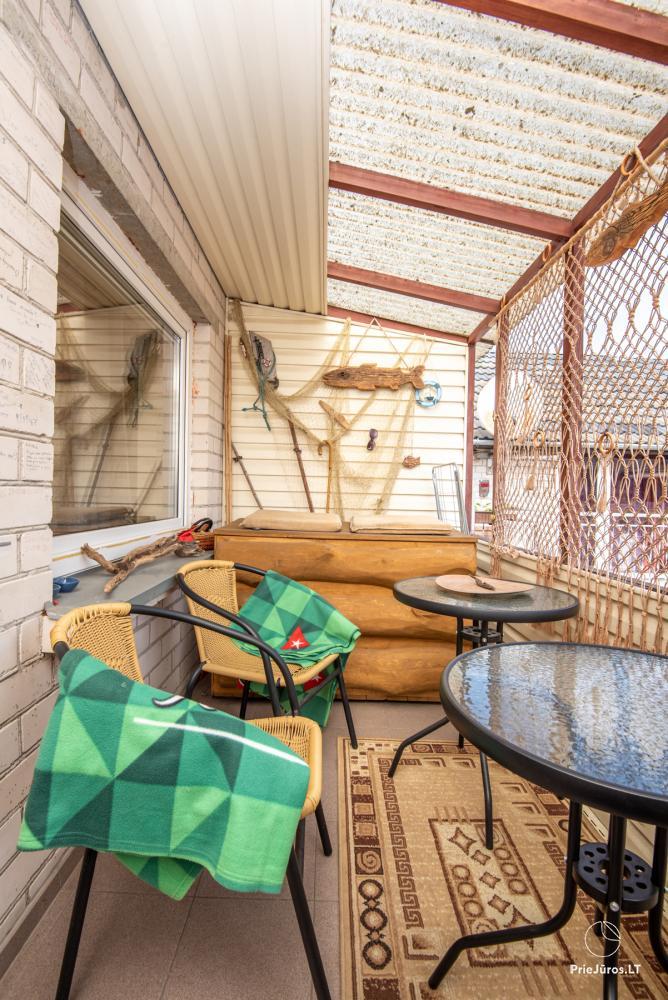 Yzzi apartamentai (45m²+ mansarda ir balkonas) nuomai Palangoje - 11