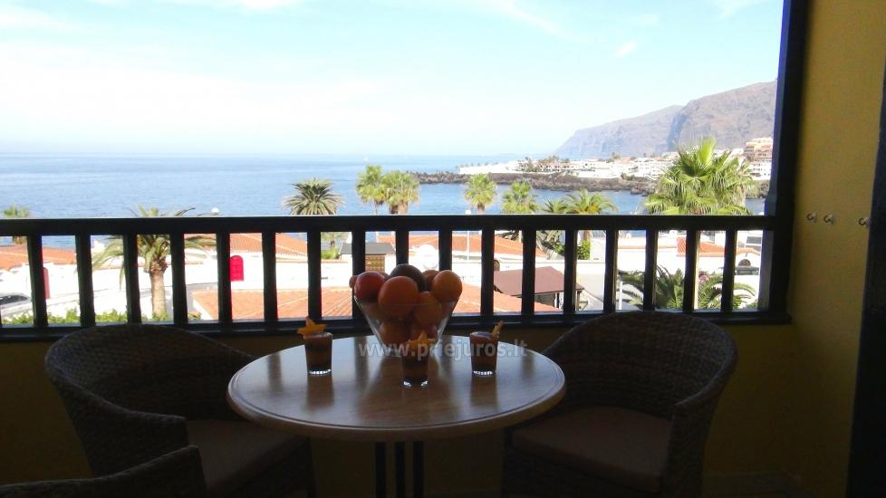 Apartment for rent in Tenerife with the view to the ocean, near Los Gigantes - 1