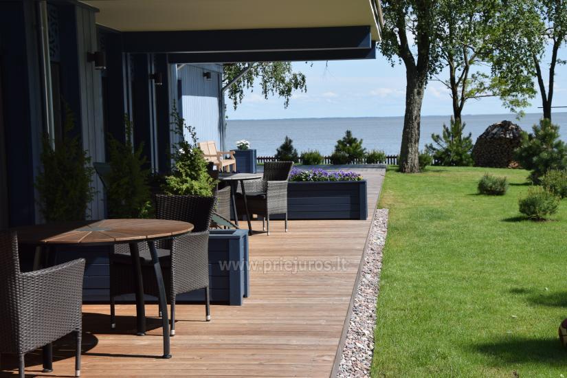 Apartamentai su terasa ir vaizdu į marias Preiloje - 1