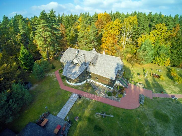 Homestead near Sventoji Laukdvaris for vacation and seminars