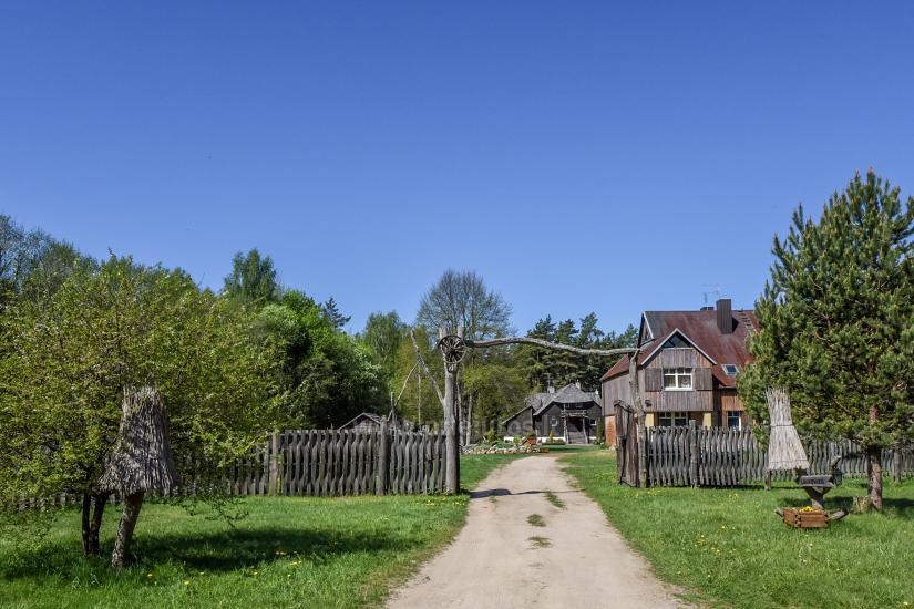 Heimstätte Laukdvaris für Urlaub und Feste - 2