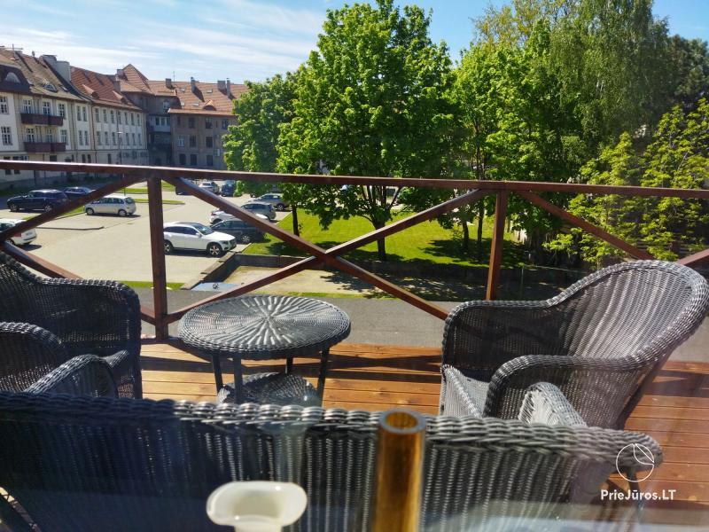 Wohnung mit Terrasse zur Miete im Zentrum von Klaipeda für komfortable Erholung