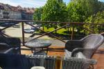 Butas Klaipėdos centre su terasa patogiam poilsiui