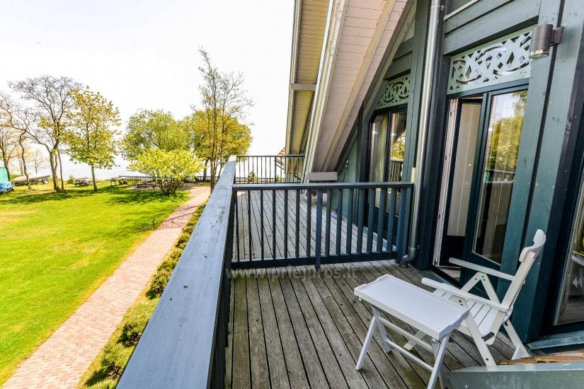Apartment in Preila on the shore of the Curonian lagoon, lagoon view balcony - 8